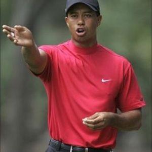 5039758d0 Nike Shirts | Golf Mock Turtleneck Short Sleeve Black Shirt | Poshmark